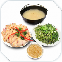 Lẩu rượu nếp gà ta / chicken hotpot with sticky rice