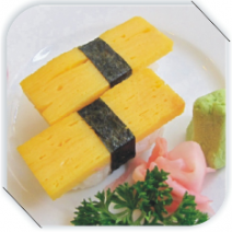 sushi trứng / sushi with egg