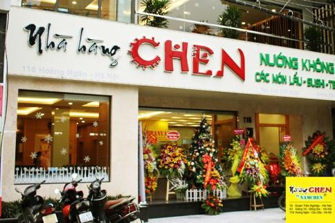 Kết quả hình ảnh cho Chuỗi nhà hàng Chen